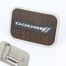 Mopar Dodge New Rhombus Logo Rockabilly Retro Belt Buckle Gürtel Gürtelschnalle