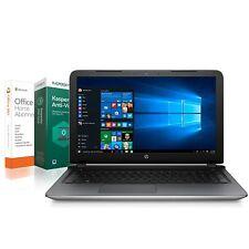 HP Notebook 15,6 Zoll - Dual Core 2 x 2,00 GHz - 1000 GB - 4 GB - Windows 10 Pro