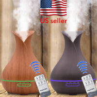 Air Aroma Humidifier Ultrasonic Aromatherapy Essential Oil Diffuser 300/550ml US