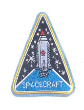 NEW Custom Made quality Sew on patches Best patch SPACE CRAFT NASA FLIGHT