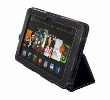 """NEW Kyasi Seattle Classic Tablet Case for Amazon Kindle HD 8.9"""" Onyx Black"""
