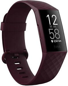 Fitbit Charge 4 Fitness-Tracker GPS, orginalverpackt, Unisex, schwarz,
