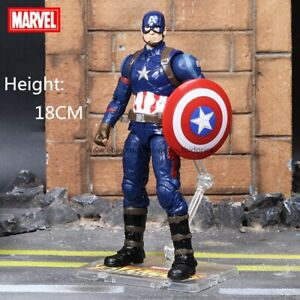 "New Captain America Marvel Avengers Legends Comic Heroes Action Figure 7"" Toys"