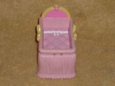 Fisher Price Loving Family Dollhouse Baby Girl Pink Bed Crib