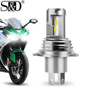 H4 9003 HB2 Motorcycle Headlight ZES LED Bulb Hi/Lo Beam Super Bright 25W 6000Lm
