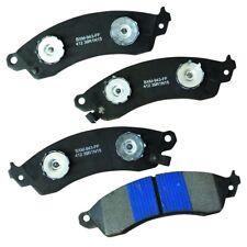 Disc Brake Pad Set-Stop Semi-Metallic Brake Pad Front Bendix SBM412