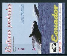 Ecuador Block 155 postfrisch / Wale ......................................1/1594