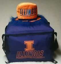 """University of Illinois Insulated Tote (19""""X19""""X12"""") ~ Party Top Hat &Silk Boxers"""