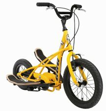 Stepperbike Moto cross Bicicleta trainer Funbike Stepper Bike 3G Junior amarillo