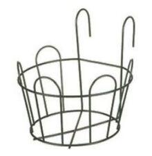 Tulip Bell Balcony Round Planter Basket Window Box Pot Holder Hanger Hooks 20 cm