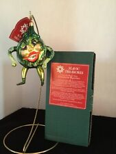 "Watermelon Man 5.25"" Slavic Treasures 02-553 Halloween Harvest Series Nib"