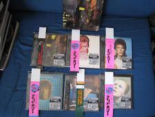 David Bowie Japan Six Mini LP CD Set w Promo Box + Promo OBI Paper Sleeve Ziggy