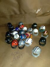 24 riddell 2010 Mini Gumball NFL football helmet lot