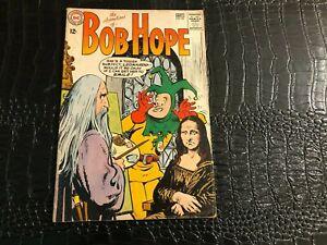 (1963 DC COMICS) Adventures of Bob Hope #82 VG - LEONARDO - MONA LISA