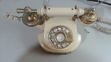Vintage United States Telephone Co. Rotary Dial Corded Telephone, Works