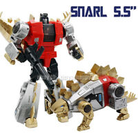 "Pocket Size MFT Robot Toy G1 Mechine Dinosaur Dinobots Snarl 5.5"" Action Figure"