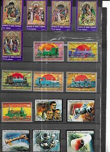 EQUATERIAL GUINEA 1972. 3 SETS. SELECTION OF 16. VERY FINE USED. AS PER SCAN
