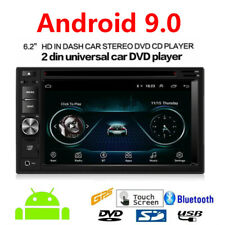 Android 9.0 Double Din Car Radio 6.2 inch Touch Screen Stereo  GPS CD DVD Player