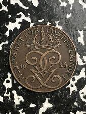 1926 Sweden 2 Ore Lot#0589
