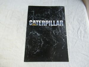 1990 CAT Caterpillar operations corporate brochure Peoria HQ engine division