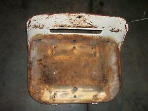VINTAGE JI CASE  830 ROW CROP  LP TRACTOR -SEAT CUSHION FRAME & SLIDE -1963
