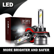 H13 9008 LED 60W 12000LM Headlight Conversion Hi/Lo Dual Beam Bulbs Headlamp LXK