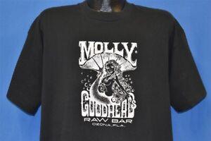 vintage 90s MOLLY GOODHEAD'S RAW BAR BEST TAIL OZONA FLORIDA TUB CLUB t-shirt XL