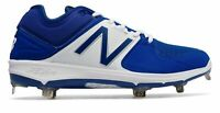 New Balance Low-Cut 3000V3 Metal Baseball Cleat Adult Running Shoes White