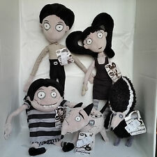 New Disney Frankenweenie Victor Elsa Sparky Plush Doll Figure Set Lot Tim Burton