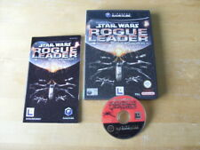 Star Wars Rogue Leader: Rogue Squadron II (Nintendo GameCube, 2002) FREE UK P&P