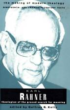 KARL RAHNER THEOLOGIAN OF THE GRACED SEARCH FOR MEANING