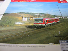 Archiv  Eisenbahnstrecken 622 Sarnau Frankenberg Eder