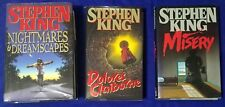 Stephen King First Edition Lot Dolores Claiborne Misery Nightmares & Dreamscapes