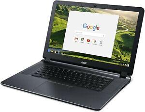 Acer 15.6in Chromebook Celeron N3060 DualCore 1.6GHz 2GB RAM 16GB Flash ChromeOS