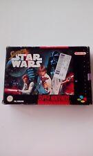 Super Nintendo Star Wars SNES game boxed
