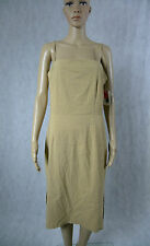 BNWT **INNOVARE** Nude Dress 12 Ivory Cream L Made in Australia Evening Formal