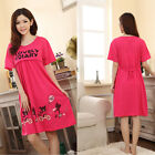 Pregnant Women Dress Large Cute Bear Lactation Nursing Clothes Maternity Dress