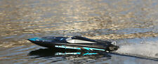 Black Marlin Brushless Rtr Rc Boat With 3s Lipo battery pack (Watch Video)