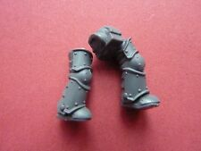 Space Marine Mark III (3) Power Armour Jambes (I) - Combustion De Prospero