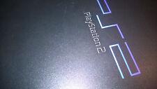 SONY PLAYSTATION 2 PS2 ORIGINAL BLACK & 8 GAMES #G110B71
