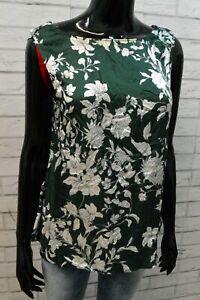 MAX&Co. Maglia Top Maglietta Canotta Viscosa Blusa Donna Taglia 44 Shirt Woman