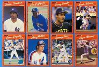 (8) 1990 Donruss Baseball Card Lot Ken Griffey Jr. Sosa Walker Gonzalez RCs