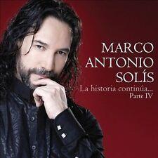 Marco Antonio Solis : La Historia Continua Parte IV CD