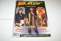 NOV 1991 GUITAR music magazine BLACK CROWES