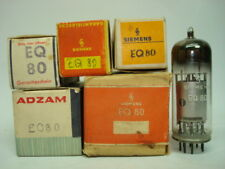 EQ80 = 6BE7 TUBE. MIXED BRAND TUBE. NOS & NIB. RC52