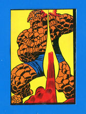 L'UOMO RAGNO E I FANTASTICI 4 - Marvel 1978 - Figurina-Sticker n. 163 -Rec