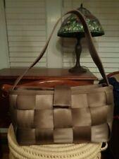 HARVEY'S Seatbelt tote bag taupe mocha made in USA