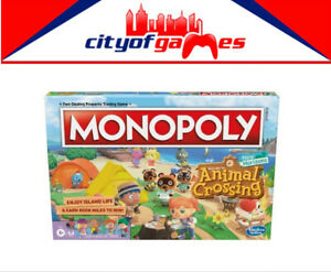 Monopoly Animal Crossing New Horizons Board Game Brand New Pre Order