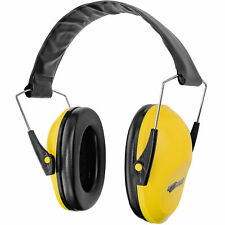 Boomstick Folding Ear Muff Safety Hearing Noise Protection Gun Shooting Yellow
