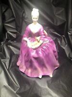 Royal Doulton Porcelain Figurine 1971 CHARLOTTE LADY w/ DOG HN 2421-EXCELLENT